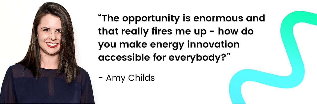Amy Childs - Managing Director of Momentum Energy