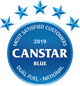 Canstar Blue Most Satisfied Customers VIC Gas 2018