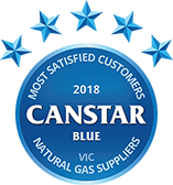 2018 Canstar Blue Most Satisfied Customers Gas Suppliers Victoria